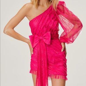 For Love and Lemons Dynasty One Shoulder Dress